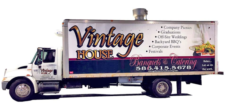 fully mobile catering kitchen truck Macomb County